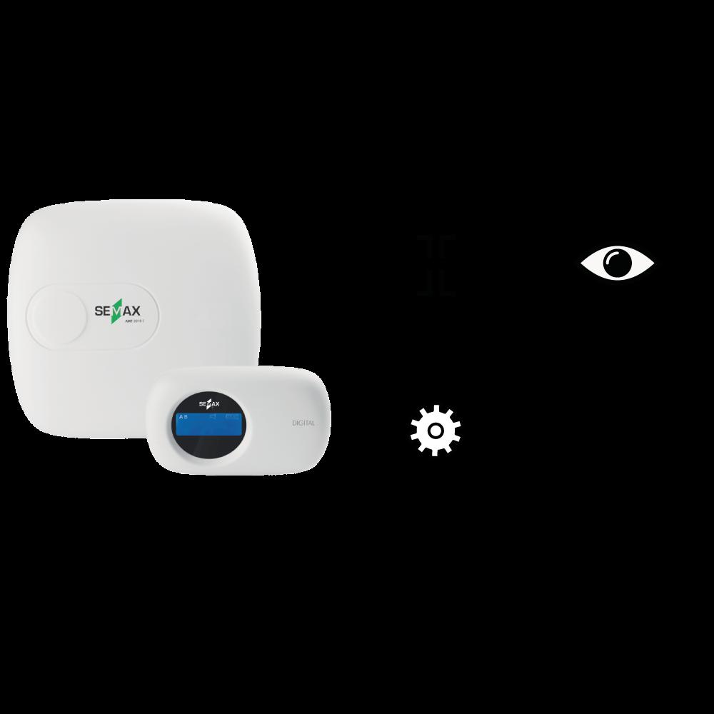 Central de Alarmes empresa de segurança eletronica Semax Alert