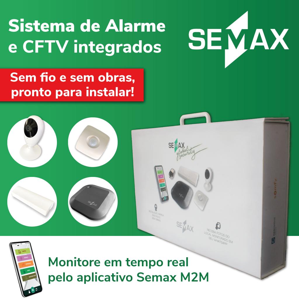 Muito mais do que um kit de câmeras de segurança, conheça o Semax Global Security